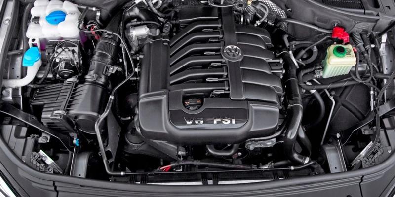 VW Touareg Recon Engines